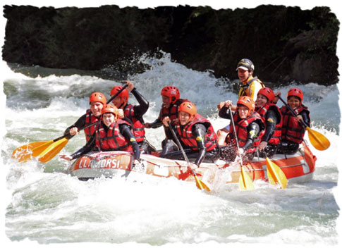 Arropaje rafting